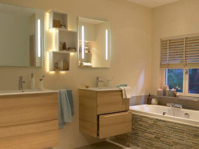 30 id es pour d corer votre salle de bains sans la r nover for Modeliser sa salle de bain