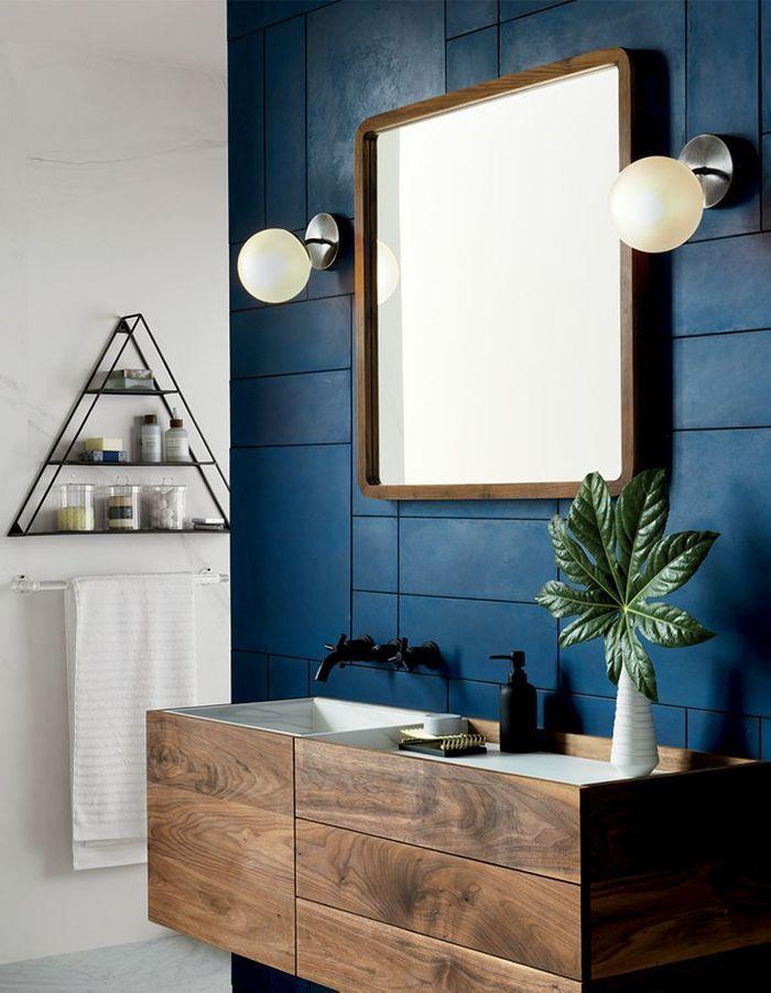 Couleur salle de bains 15 astuces pour apporter de la - Quelle couleur pour salle de bain ...