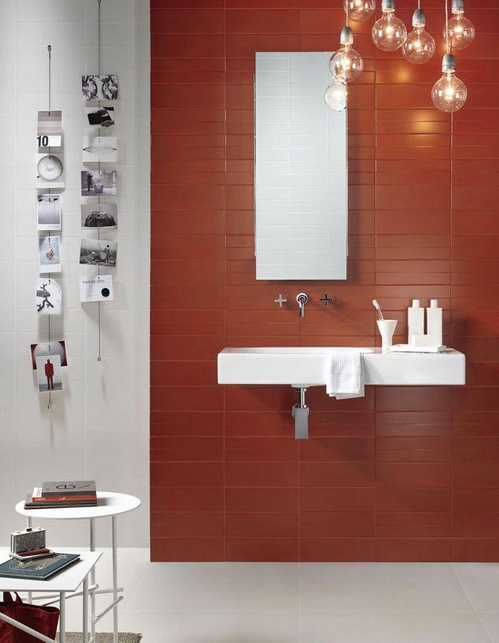 Couleur salle de bains 15 astuces pour apporter de la for Couleur mur salle de bain