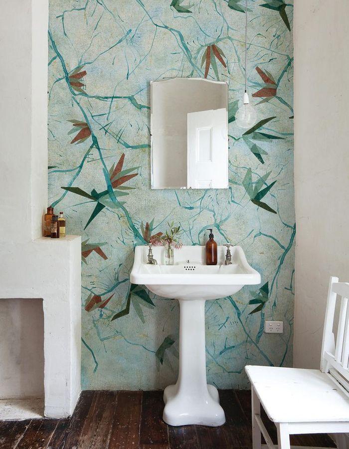Salle de bains bleue Wall & Deco