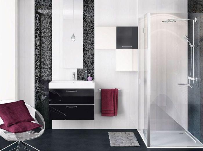 salle de bain italienne petite surface beautiful. Black Bedroom Furniture Sets. Home Design Ideas