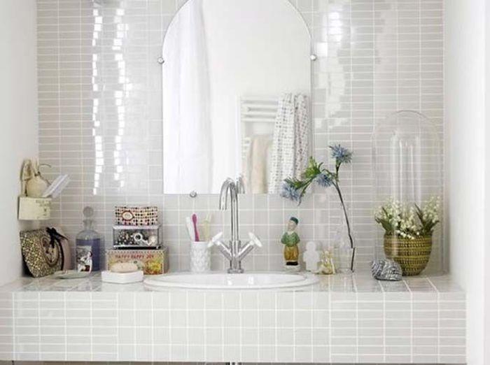 Les accessoires font la déco dans la salle de bains !