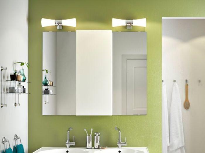 12 luminaires pour la salle de bains elle d coration for Ikea luminaire salle de bain