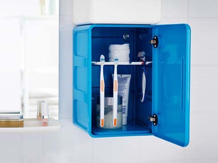 Des rangements qui boostent la salle de bains elle for Casiers vestiaires piscine