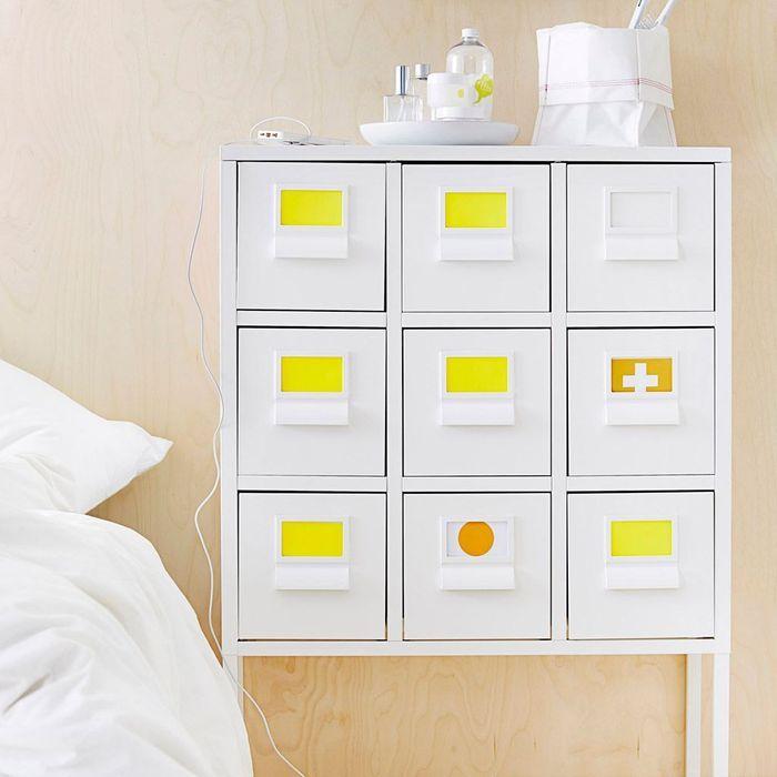 Ikea lance une collection sp ciale salle de bains elle for Ikea meuble tiroir rangement