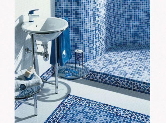 Des belles salles de bains pour r ver elle d coration - Salle de bain blanche et bleu ...