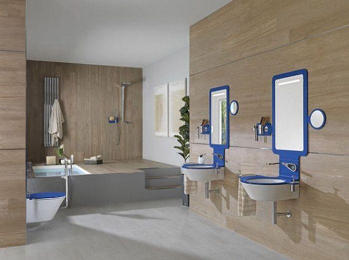 Des belles salles de bains pour r ver elle d coration for Robinetterie design salle de bain