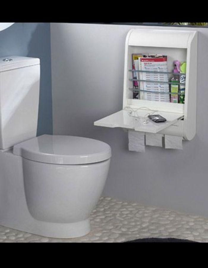 Shopping solutions fut es pour petites salles de bains elle d coration - Castorama wc a poser ...