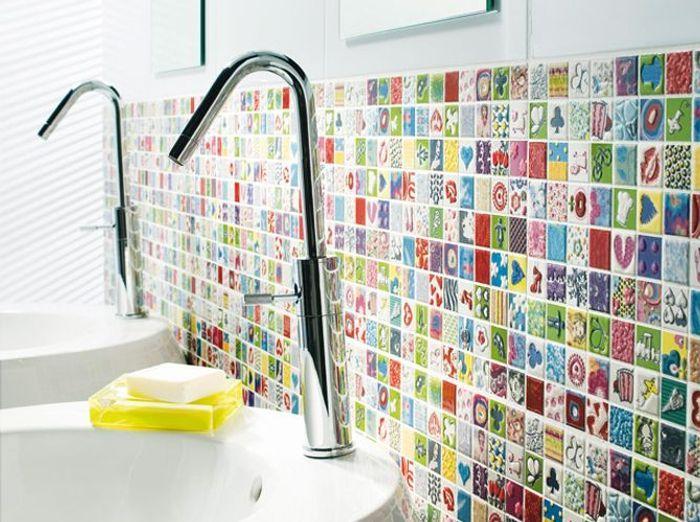 une salle de bains pour tout faire comme les grands elle d coration. Black Bedroom Furniture Sets. Home Design Ideas