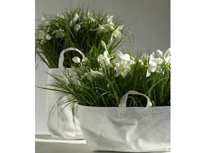 Lilis grand sac canvas pot de fleurs