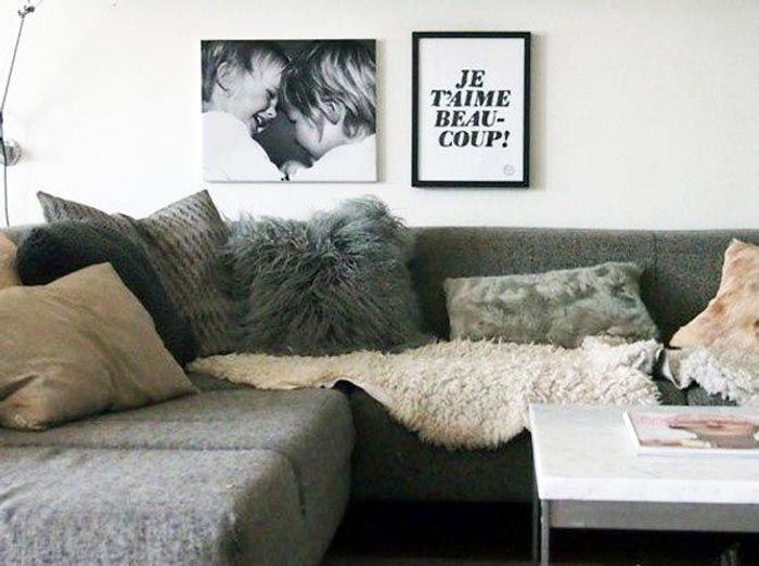 Accrochez Vos Photos Aux Murs Avec Style - Elle Décoration