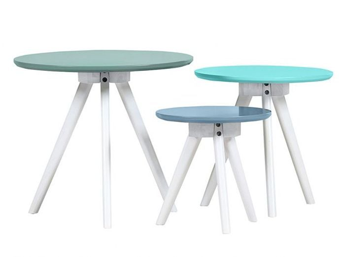 Table Appoint Bleue