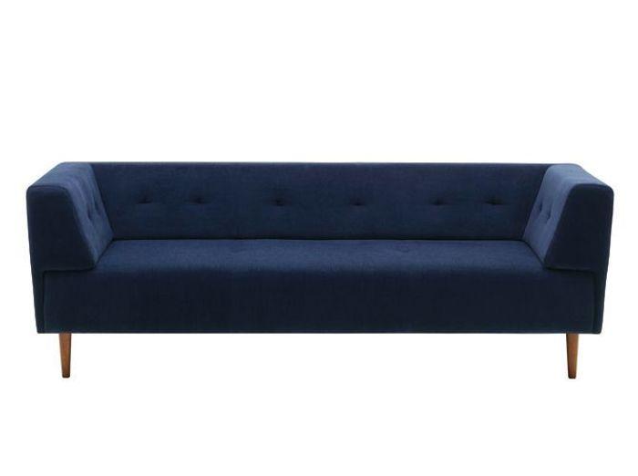 30 canapes design qui nous font rever elle decoration for Canape design bleu