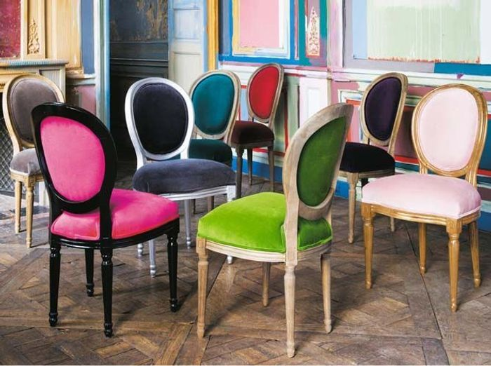 La d co velours signe son grand retour elle d coration for Chaises maison du monde occasion