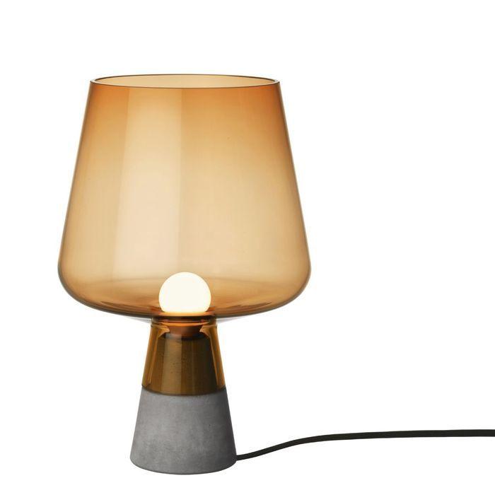 Lampe a poser en verre et beton 5 Nouveau Lampe Verre Iqt4