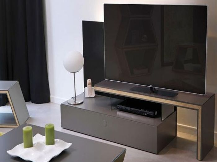 Awesome Le Meuble Tv Fait Sa Star With Console Extensible Fly