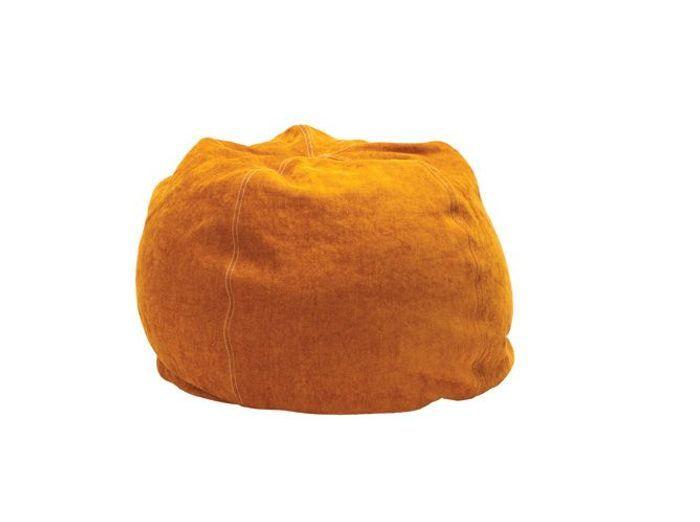 Un pouf moelleux