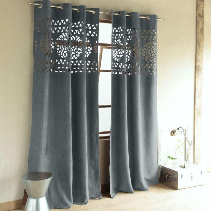 shopping rideaux quel mod le pour mon salon elle d coration. Black Bedroom Furniture Sets. Home Design Ideas