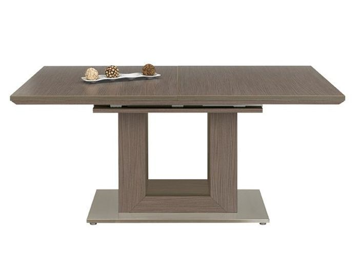 Pied de table a manger gallery of table manger rectangle - Table a manger pied central ...