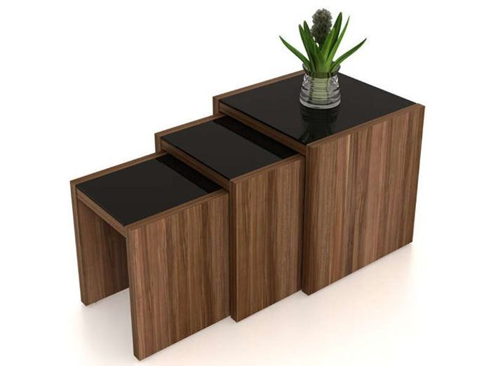 tendance la table basse se multiplie elle d coration. Black Bedroom Furniture Sets. Home Design Ideas