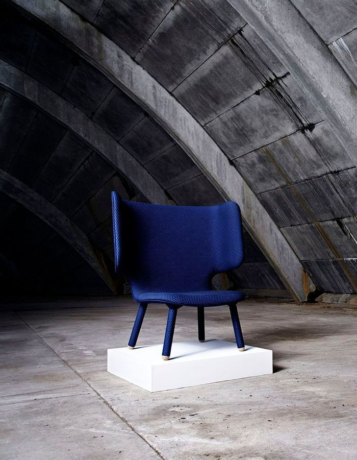 Fauteuil haut New Works