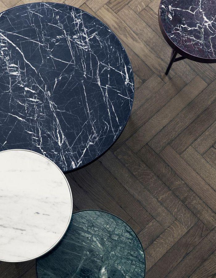Table basse en marbre Ferm Living