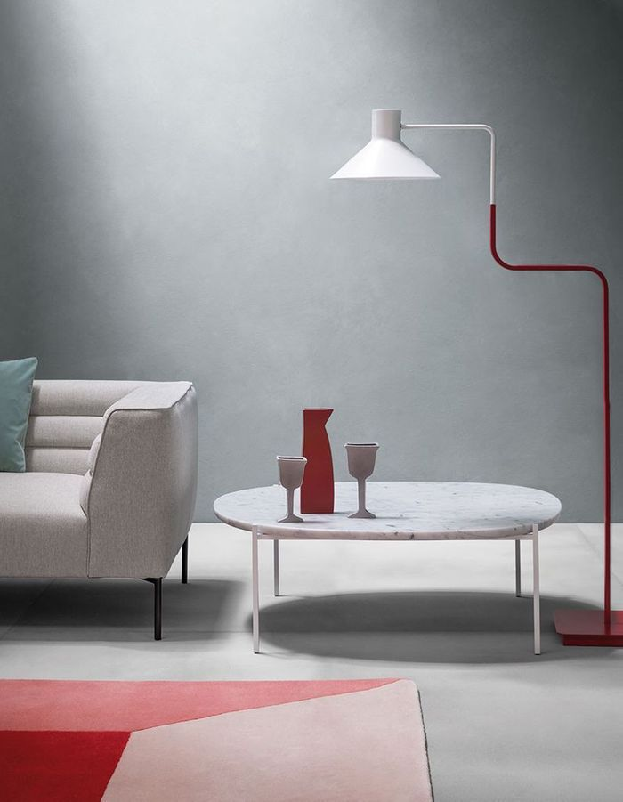 Table basse en marbre Zanotta