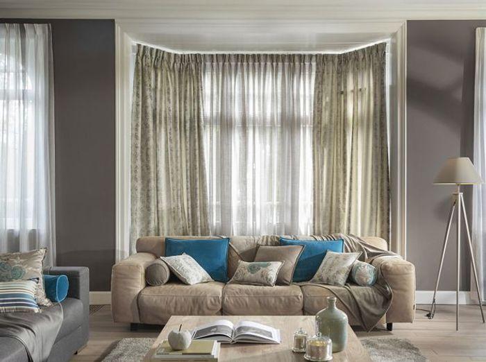 inspiration shopping nos coups de c ur rideaux et voilages heytens elle d coration. Black Bedroom Furniture Sets. Home Design Ideas