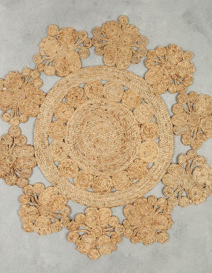 Une tapis en jute pour une déco cocooning
