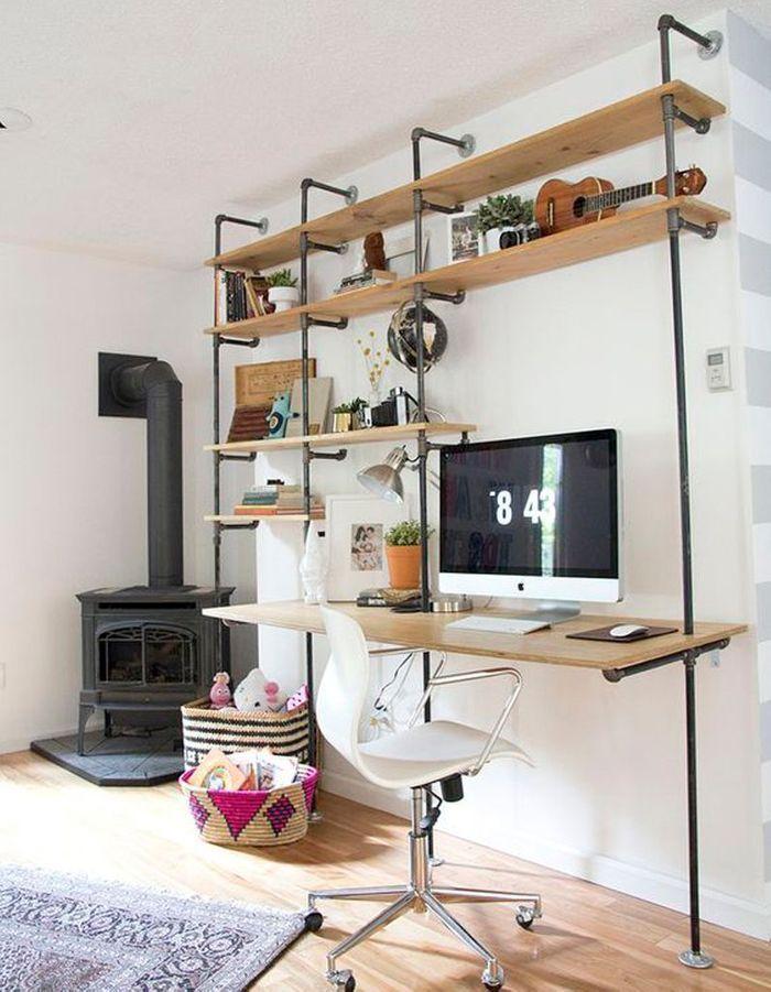 Bureau à étages