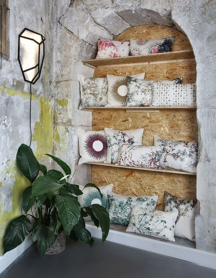 le coussin d co l accessoire indispensable elle. Black Bedroom Furniture Sets. Home Design Ideas