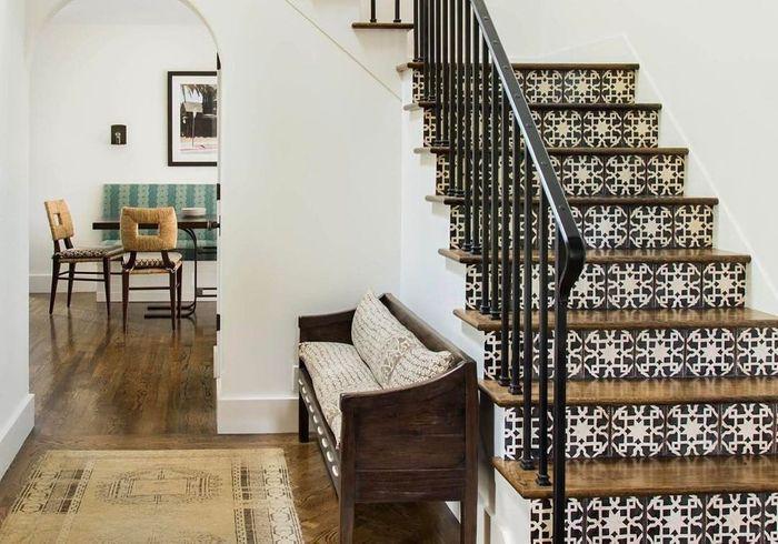 comment dcorer une cage d escalier escaliers trs inspirs with comment dcorer une cage d. Black Bedroom Furniture Sets. Home Design Ideas