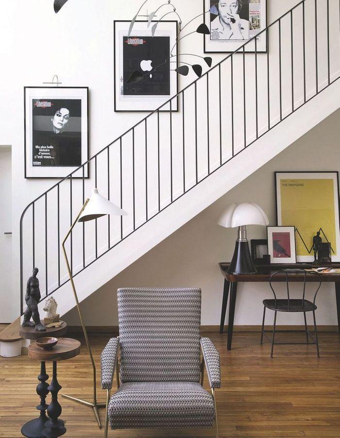 Adopter l'esprit minimaliste pour un escalier déco