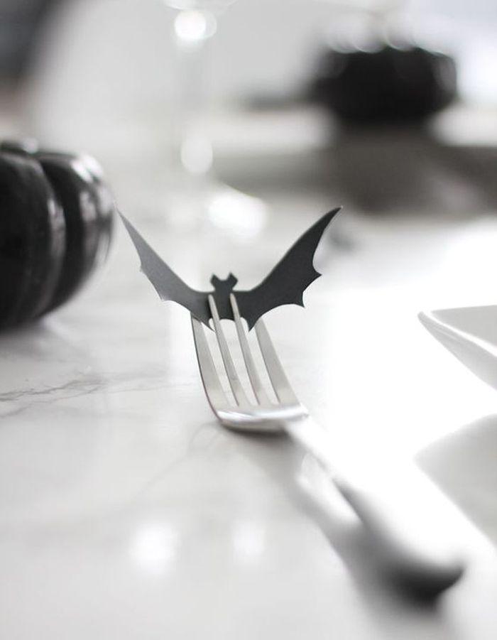 Décoration Halloween : la chauve-souris