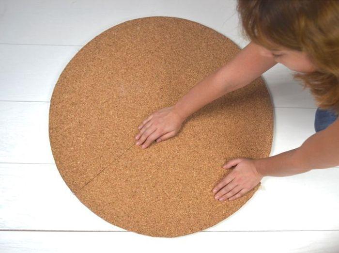 diy fabriquez un tapis en corde graphique elle d coration. Black Bedroom Furniture Sets. Home Design Ideas