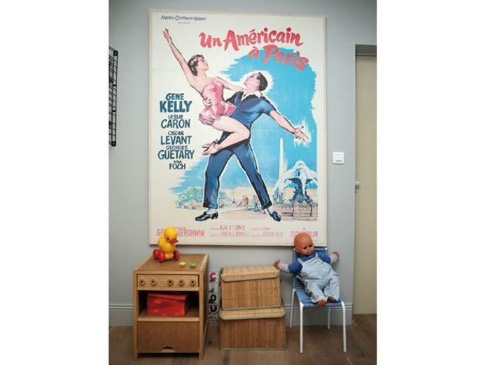 Une affiche vintage
