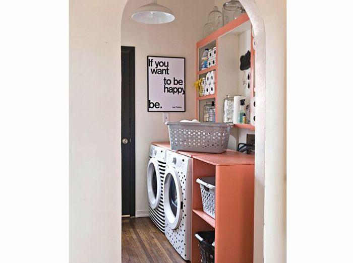 Bien intégrer sa machine à laver dans son intérieur - Elle Décoration