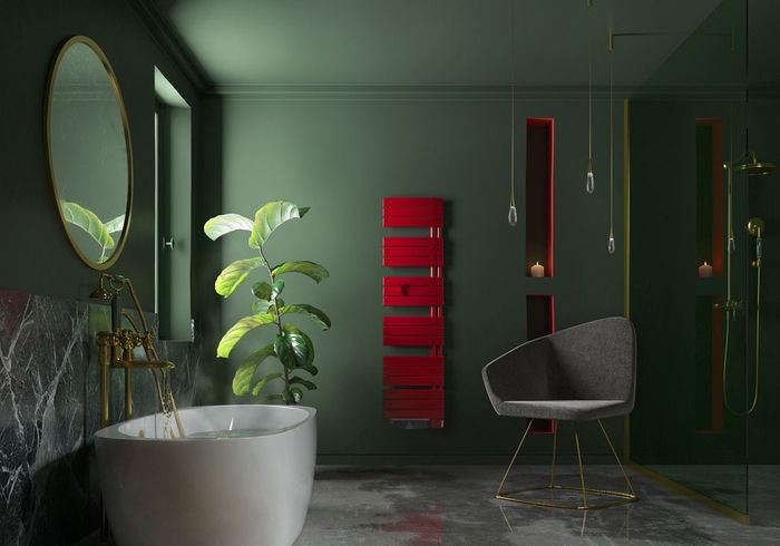 Un radiateur design coloré