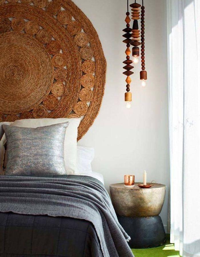 20 id es pour pimper ses murs autrement qu 39 avec des tableaux elle d coration. Black Bedroom Furniture Sets. Home Design Ideas