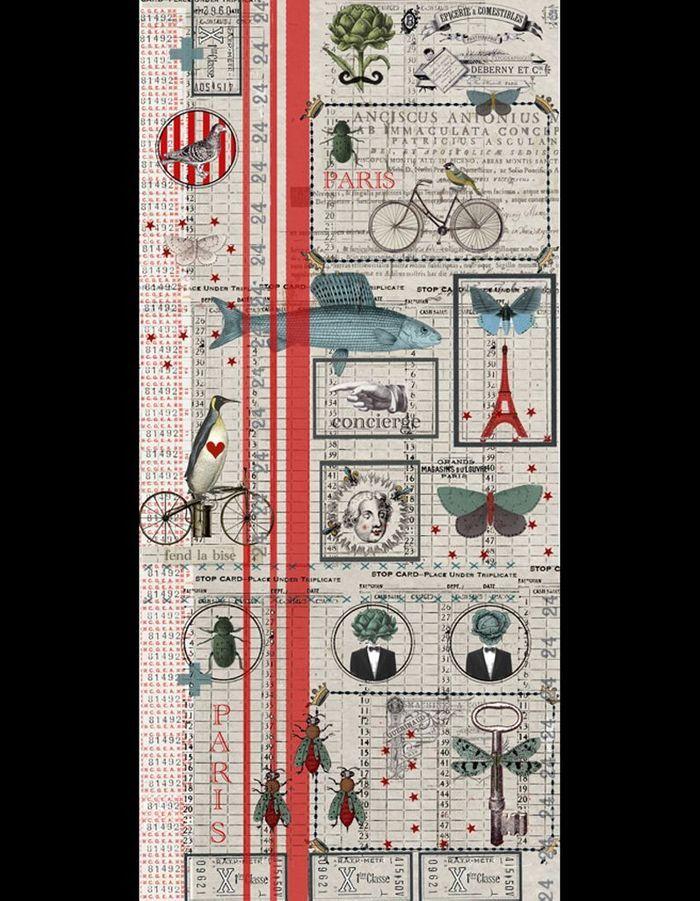 80 id es pour habiller ses murs elle d coration - L art du papier paris ...