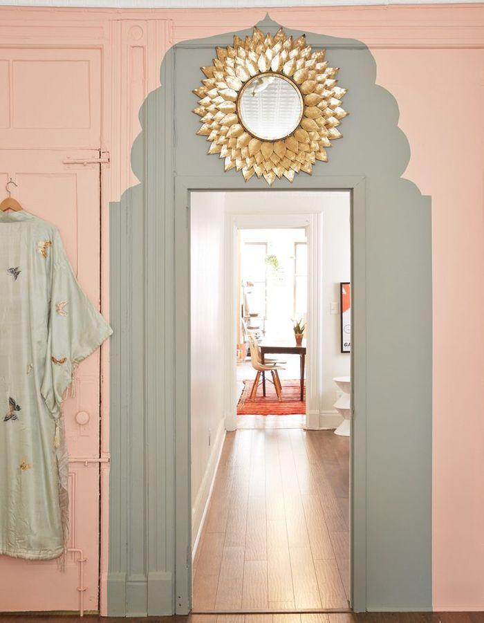 peinture murale 20 inspirations pour un int rieur trendy elle d coration. Black Bedroom Furniture Sets. Home Design Ideas