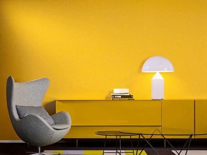 Papier Peint : Les Nouveaux Modèles Colorés - Elle Décoration