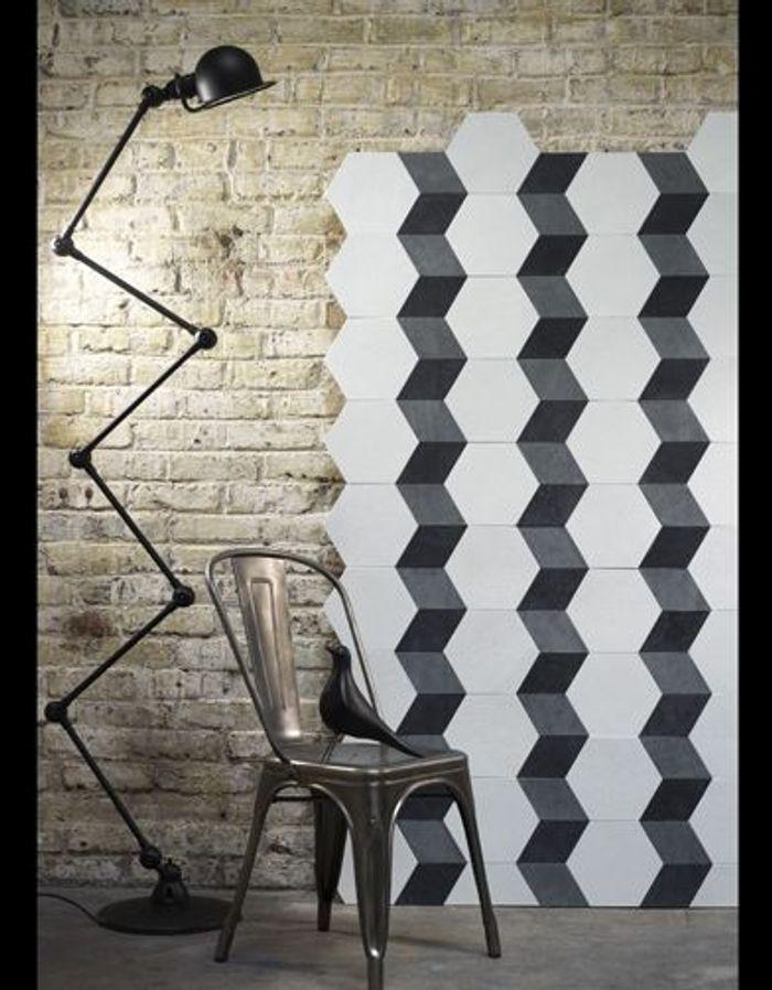 papier peint on mise sur le graphique elle d coration. Black Bedroom Furniture Sets. Home Design Ideas