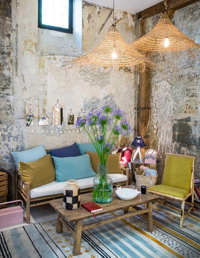 tapisserie sejour salon good suprieur papier peint sejour. Black Bedroom Furniture Sets. Home Design Ideas