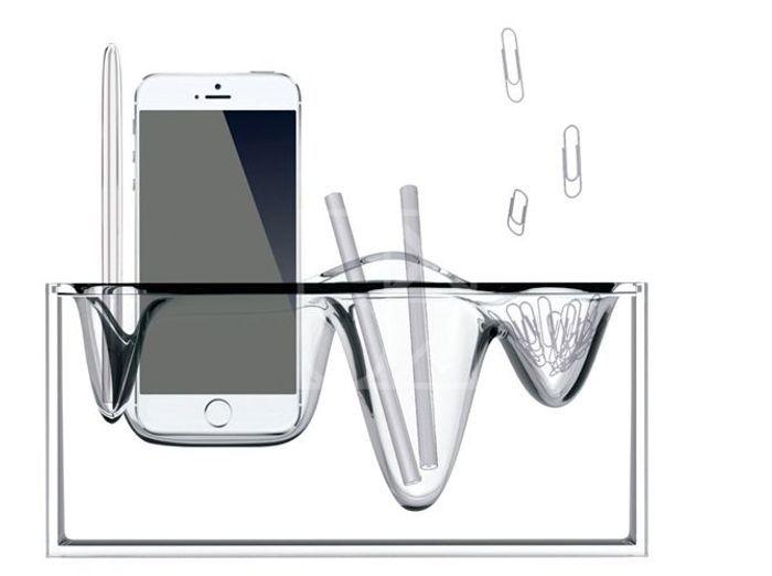 Un organisateur de bureau design pour installer son portable