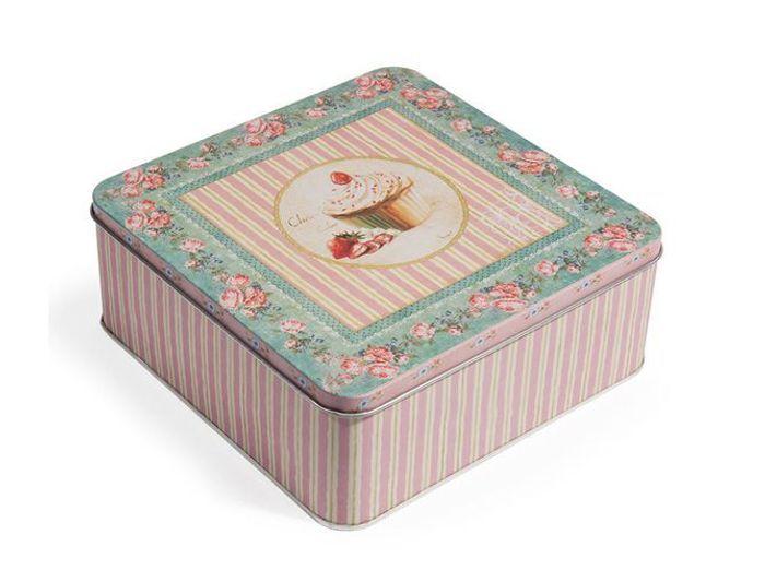 Maison du monde boite th affordable caja con e with for Boite couture maison du monde