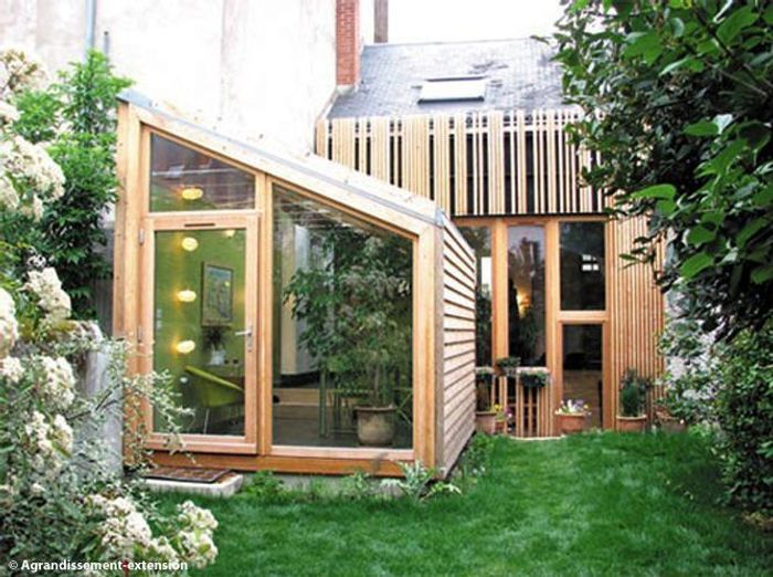 Id es extension maison for Extension maison en dur