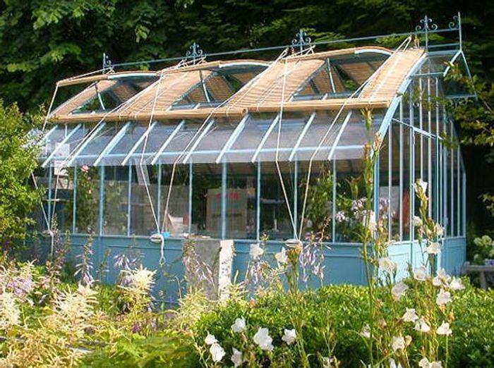 Trendy Veranda Serre Serres D Antan With Plant D Une Maison