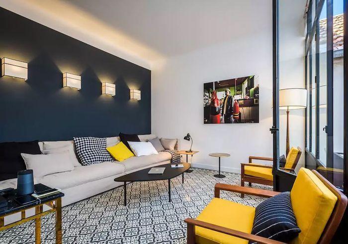 Appartement à la déco contemporaine à Biarritz