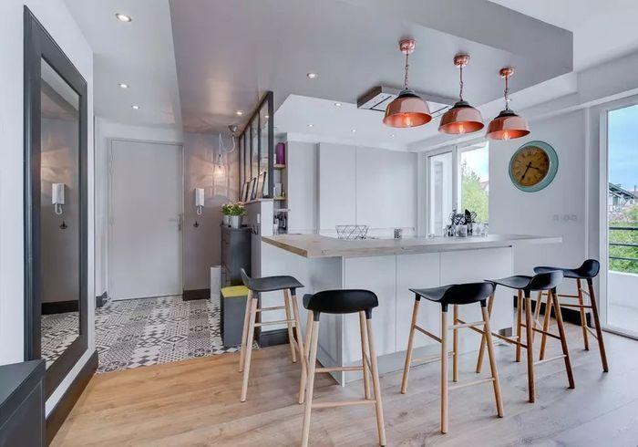 Appartement aux accents design à Biarritz